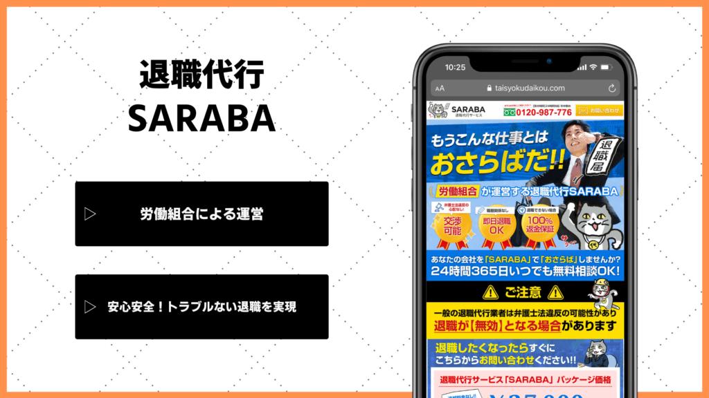 退職代行SARABAの体験談・口コミ・評判【実際に利用した13人から聞いた】